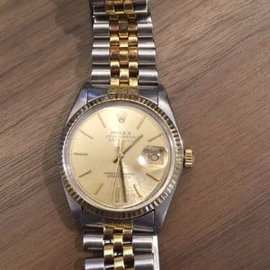 Rolex datejus model 160133 sep 27, 1980